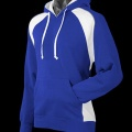 Adults Huxley Contrast Hoodie - Royal / White