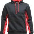 MPH Adults Matchpace Hoodie - Black / Red