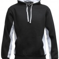 MPH Adults Matchpace Hoodie - Black / White