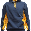 MPH Adults Matchpace Hoodie - Navy / Gold