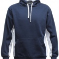 MPH Adults Matchpace Hoodie - Navy / White