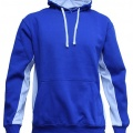 MPH Adults Matchpace Hoodie - Royal / White