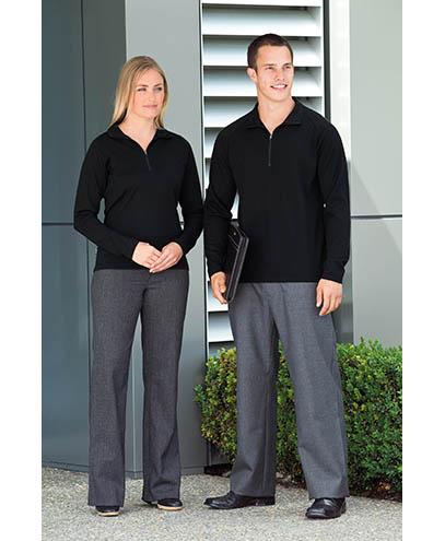 EGMZ & WEGMZ Merino Zip Pullover - Worn