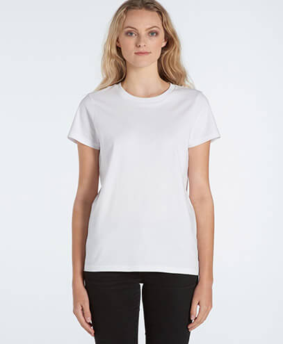 4001 Womens Maple T-shirt - Front