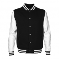 LMJ Adults Letterman Jacket - Front