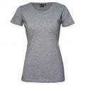T201 Womens Silhouette Tee - Grey Marle