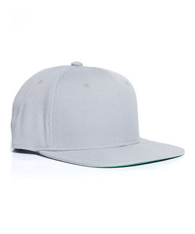 1101 Trim Snapback Cap - Light Grey