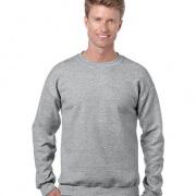 18000 Adults Basic Sweatshirt - Sports Grey