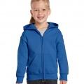 18600B Kids Basic Zip Hoodie - Royal