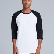 5012 Adults Raglan T-shirt - Front
