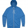 5107 Adults Traction Zip Hoodie - Arctic Marle