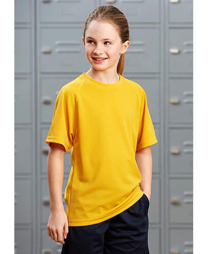 T301KS Kids Sprint Quick Dry T-shirt - Front