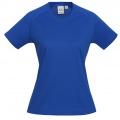 T301LS Womens Sprint Quick Dry T-shirt - Royal