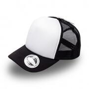 U15502 U Flex Foam Trucker Cap - Black / White