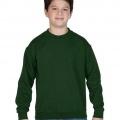 18000 Kids Basic Sweatshirt - Forest Green
