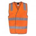 6DNSV Adults Hi Vis D+N Safety Vest - Front