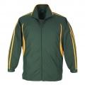 J3150 Adults Flash Team jacket - Forest / Gold