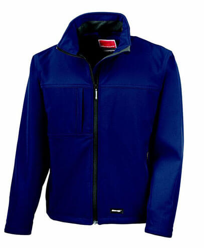 R121X Adults Result Softshell - Navy