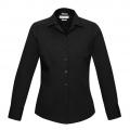 S316LL Womens Verve Long Sleeve Shirt - Black