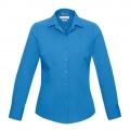 S316LL Womens Verve Long Sleeve Shirt - Cyan