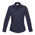 S316LL Womens Verve Long Sleeve Shirt - Mightnight Blue