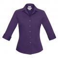 S316LT Womens Verve 3/4 Sleeve Shirt - Purple