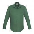 S316ML Mens Verve Long Sleeve Shirt - New Green