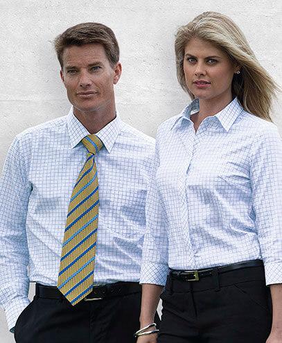 WTAX Womens Axiom Check Long Sleeve Shirt - Worn