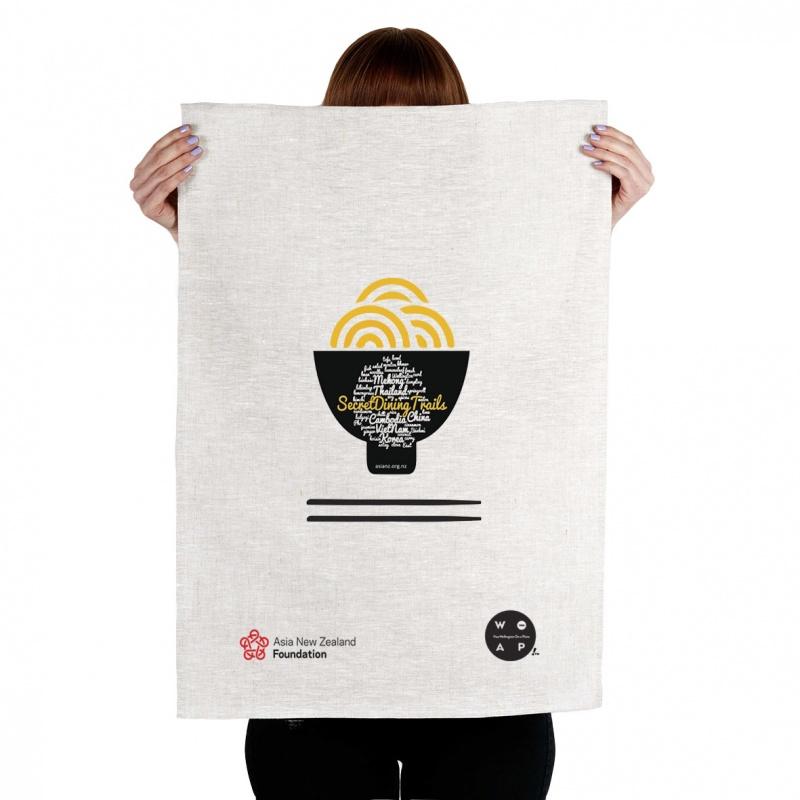 Secret Dining Trails - Business Tea Towel