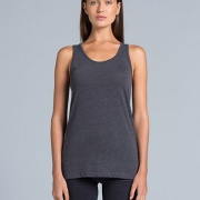 4040 Womens Tulip Singlet - Front