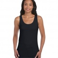 64200L Womens Fitted Tank - Front