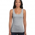 64200L Womens Fitted Tank - Sports Grey