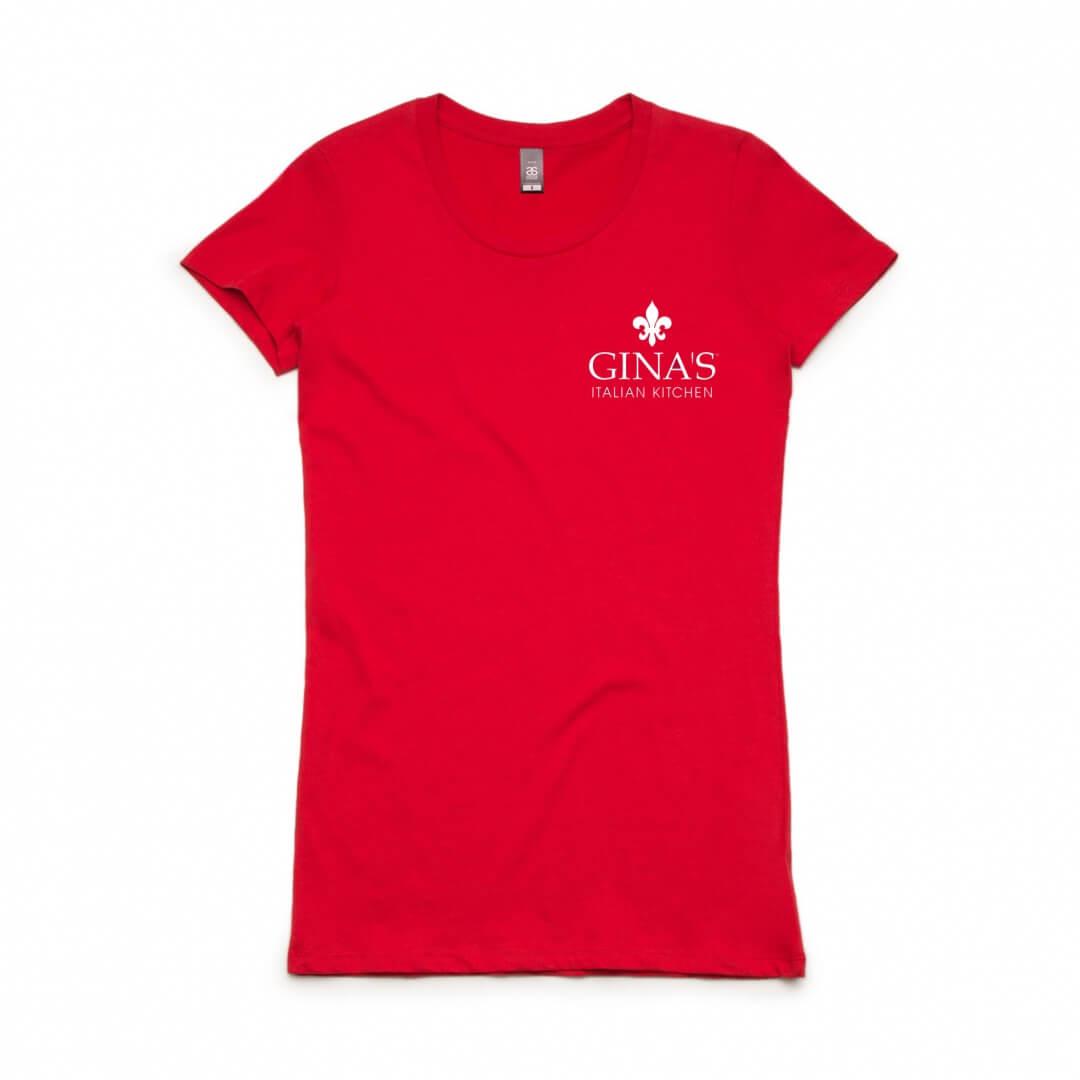 Shirt design nz - Ginas Custom Printed Event Apparel