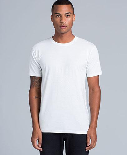 5005 Unisex Organic White T-shirt - Worn