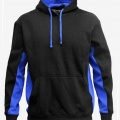 MPH Adults & Kids Matchpace Hoodie - Black / Royal