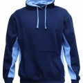 MPH Adults & Kids Matchpace Hoodie - Navy / Sky