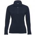 WEGMZ Womens Merino Zip Pullover - Navy