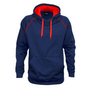 XTH Adults Performance Hoodie - Navy/Red
