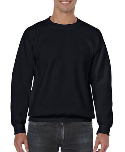 18000 Adults Basic Sweatshirt - Black