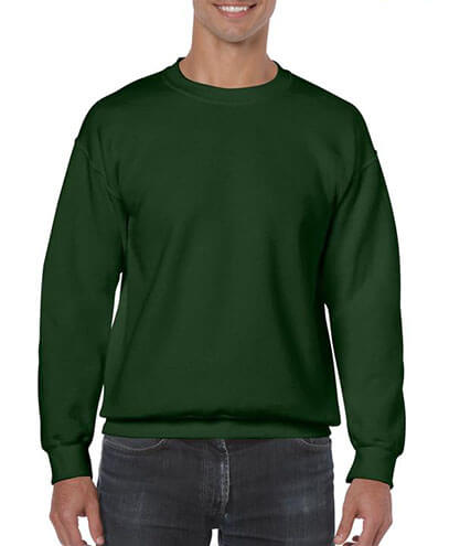 18000 Adults Basic Sweatshirt - Forest Green