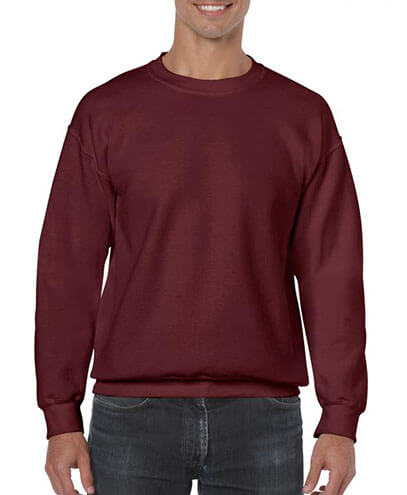 18000 Adults Basic Sweatshirt - Maroon