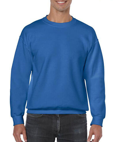 18000 Adults Basic Sweatshirt - Royal