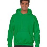 18500 Adult Basic Hoodie - Irish Green