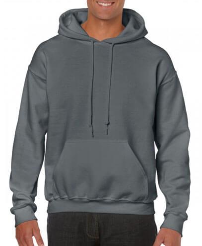 18500 Adults Hoodie - Charcoal