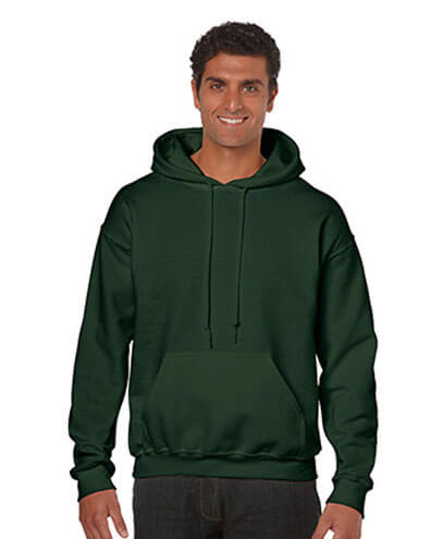 18500 Adults Hoodie - Forest Green