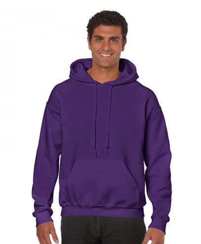 18500 Adults Hoodie - Purple