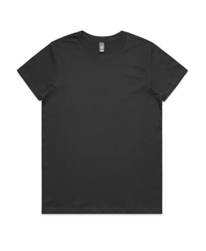 4001 Womens Maple T-shirt - Coal