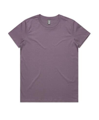 4001 Womens Maple T-shirt - Mauve
