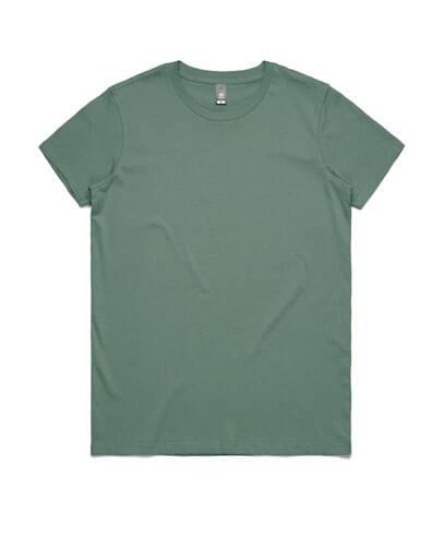 4001 Womens Maple T-shirt - Sage