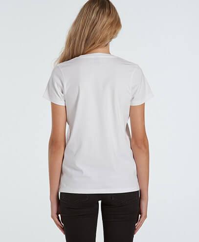 4001 Womens Maple T-shirt - Back